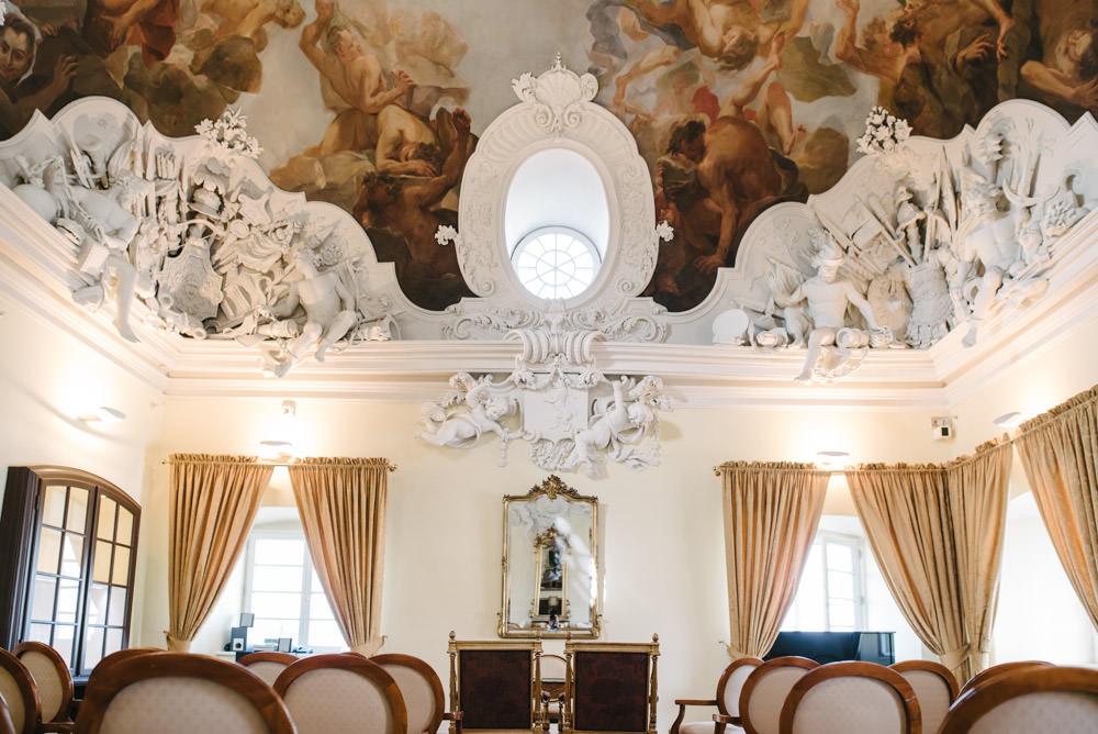 standesamtliche Trauung auf Schloss Bensberg