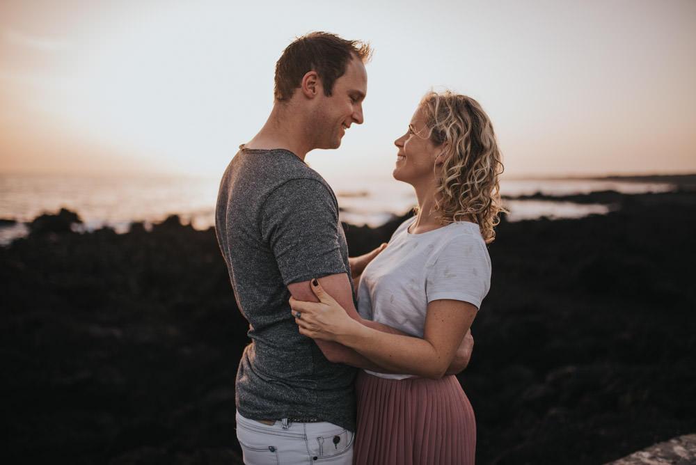 Paar Fotoshooting Lanzarote Hochzeitsfotograf