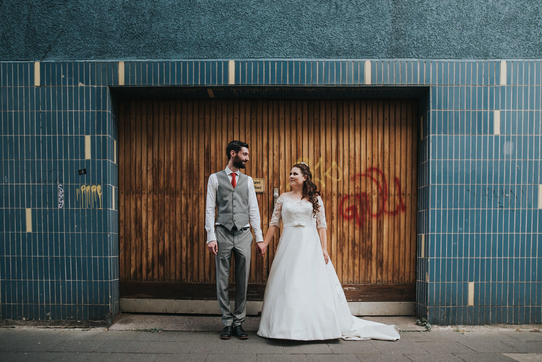 Urbane Hochzeit Ehrenfeld