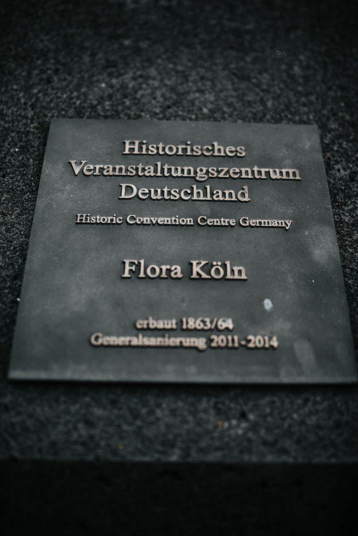 Flora Köln Hochzeitslocation