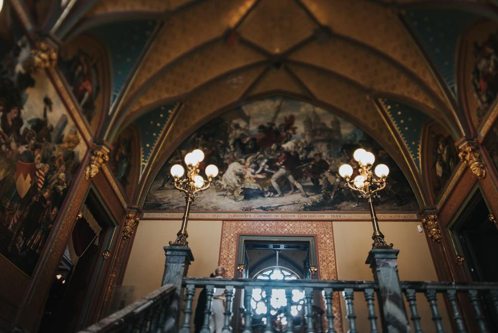 Hochzeit Schloss Drachenburg Drachenfelsbahn Hochzeitsfotos