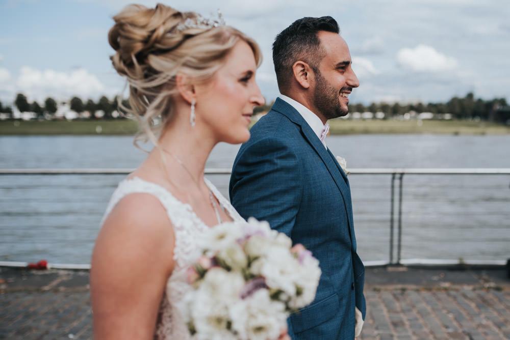 Brautpaarshooting an der Wurstbraterei
