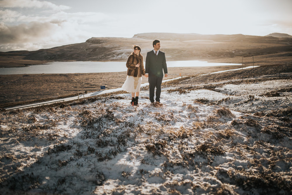 After Wedding Shooting Isle of Skye