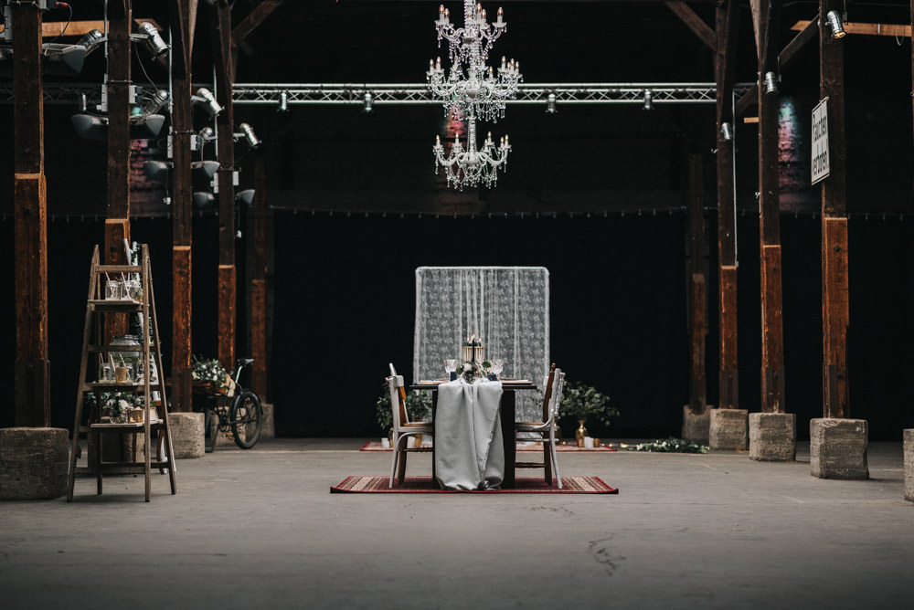 Hochzeit Gare Du Neuss Inspirationsshooting Stefano Chiolo