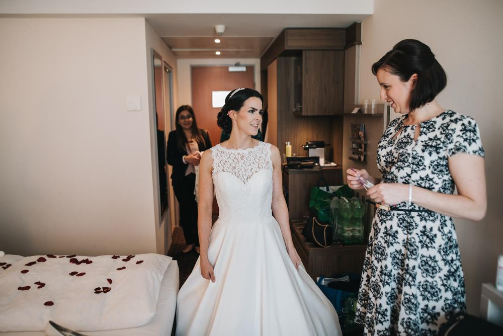 Urbane Hochzeit im Lieblingscafe