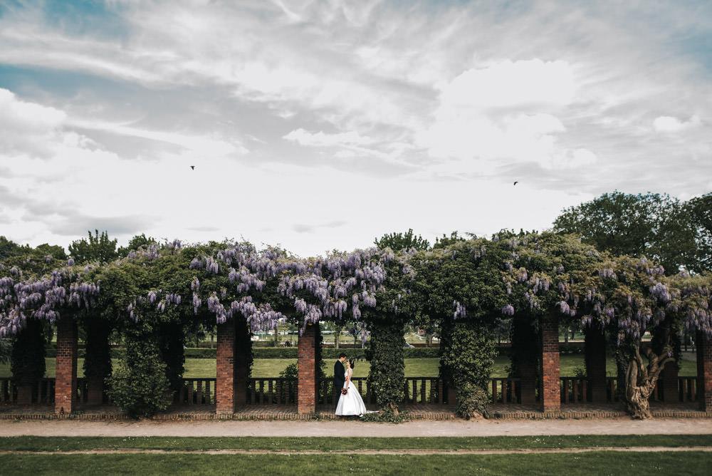 Brautpaarshooting Friedenspark Römerpark Köln