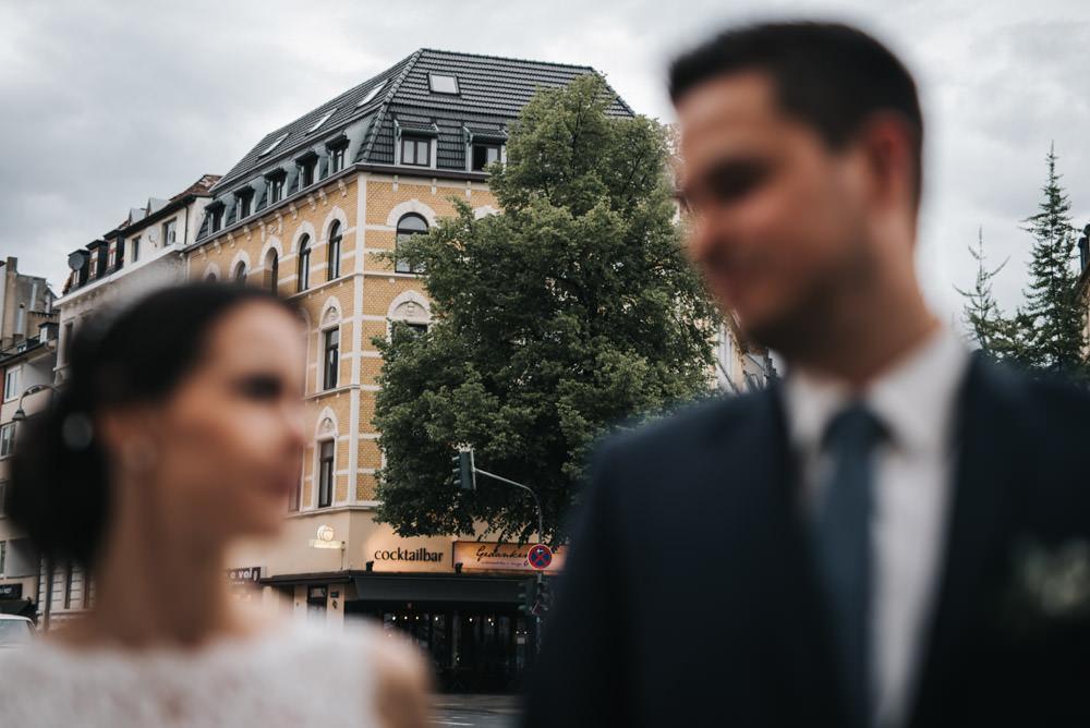 Hochzeitsfeier im Belgischen Viertel in Köln