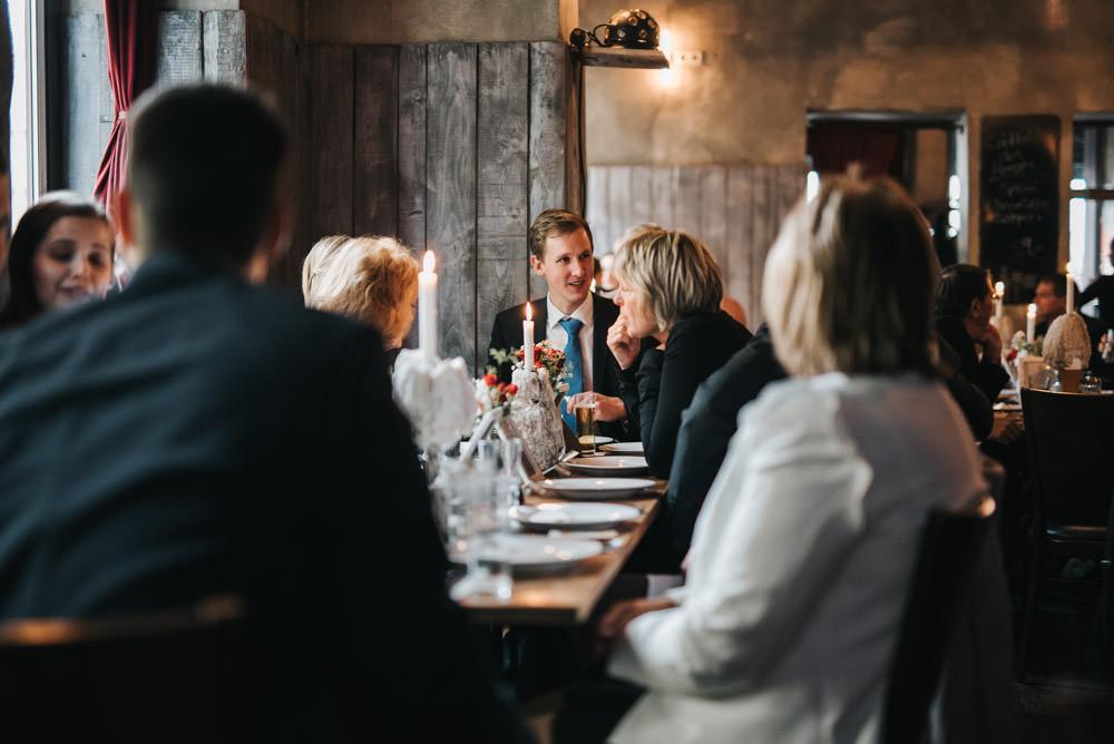 Hochzeitsfeier im Cafe Gedankengut