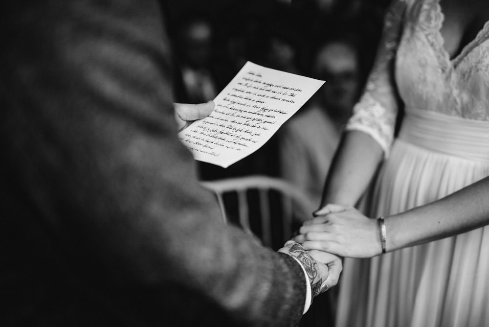 Emotionales Eheversprechen bei freier Trauung