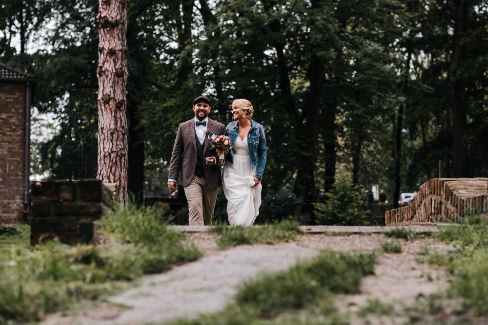 Hochzeitsshooting bei Regen