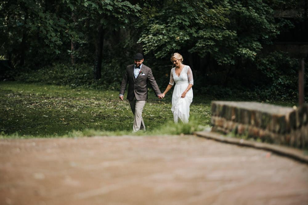 Brautpaarshooting bei REgen