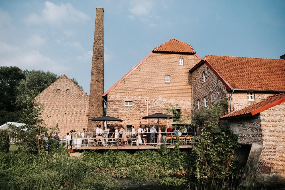 Scheunenhochzeit in Holland Stadbroekermolen Freie Trauung