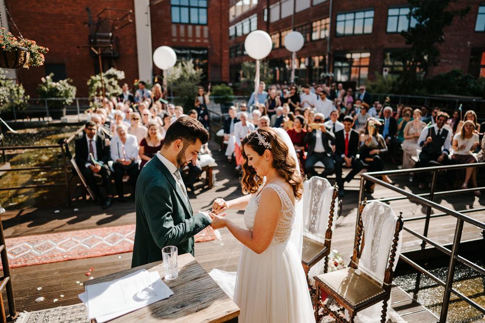 Seifenfabrik Dr.Thompsons Hochzeit Düsseldorf freie Trauung