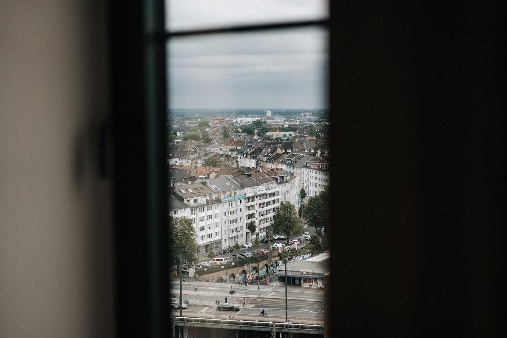 Getting REady im 25 Houts Hotel Düsseldorf