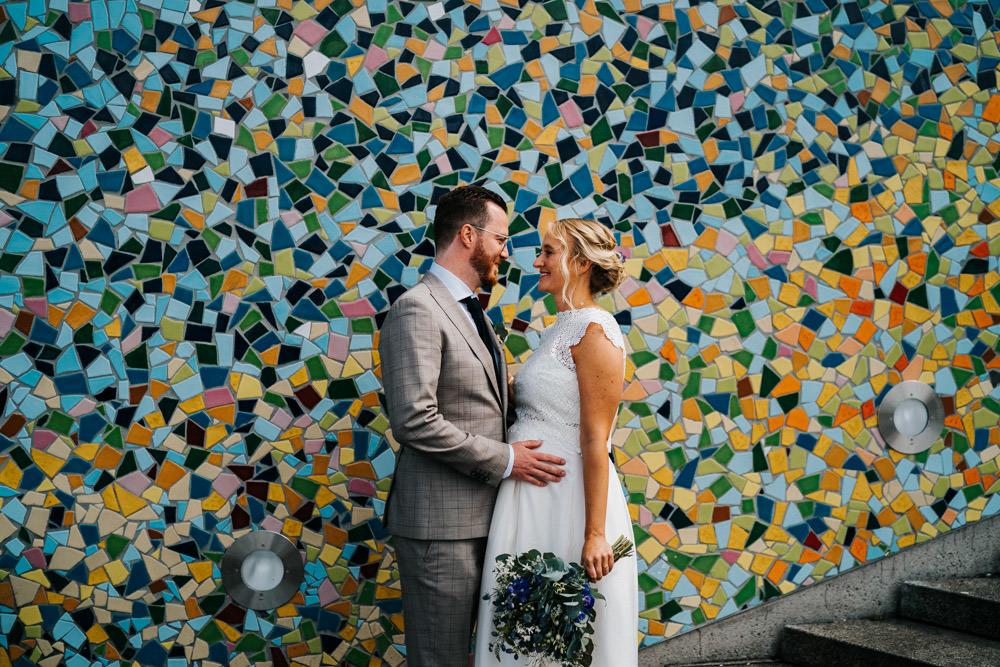 Hochzeit Brautpaar Düsseldorf Altstadt